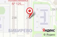 Схема проезда до компании Камо и К в Москве