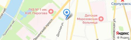 Банкомат КБ ЯР-Банк на карте Москвы