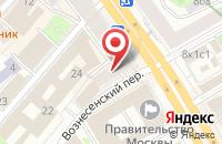 Схема проезда до компании Ривера в Российском