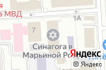 Схема проезда до компании Алеф в Москве