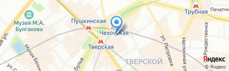 Тбилиси на карте Москвы