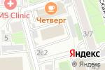 Схема проезда до компании RECsquare в Москве