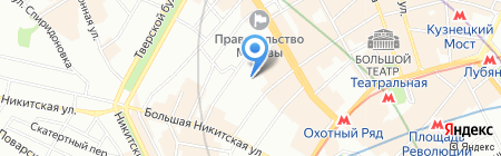 Инфофлот Москва на карте Москвы