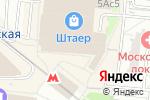 Схема проезда до компании Винорус в Москве