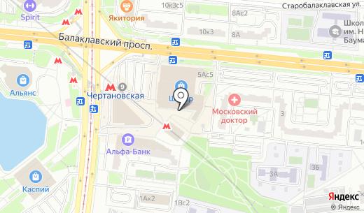 Елена. Схема проезда в Москве