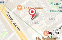 Схема проезда до компании Архитектура и Градостроительство в Москве