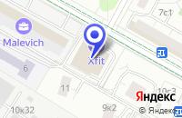 Схема проезда до компании ДЮСШ ОРБИТА в Москве