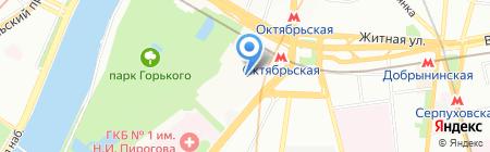Стройтранспортсервис на карте Москвы