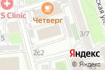 Схема проезда до компании Риковс в Москве