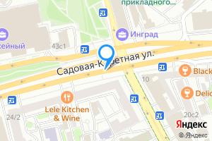 Комната в семикомнатной квартире в Москве Садовая-Каретная улица