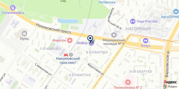 ТФ FUTURELINE на карте Москве