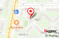 Схема проезда до компании Счастливая Семья в Москве