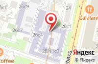 Схема проезда до компании Теплоэнергосбыт-Сервис в Москве