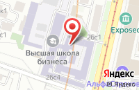 Схема проезда до компании Контент Сервис в Москве
