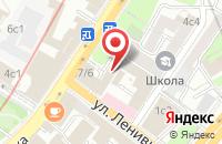 Схема проезда до компании Ивэнтсити в Москве