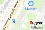 Схема проезда до компании Motor-DJI в Москве