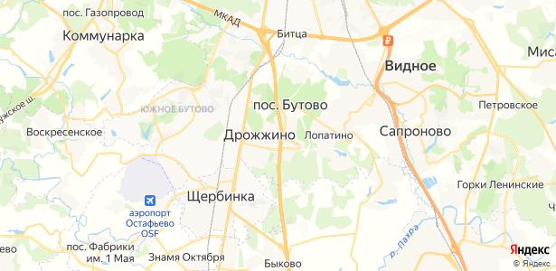 Боброво на карте