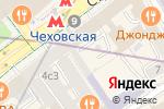 Схема проезда до компании NATANIEL DOBRYANSKAYA в Москве
