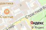 Схема проезда до компании Московское региональное отделение Фонда социального страхования в Москве