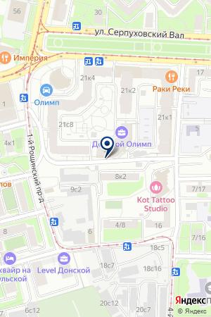 ИНФОРМАЦИОННАЯ КОМПАНИЯ РЕСТОРАННОГО БИЗНЕСА ПРЕСТО на карте Москвы