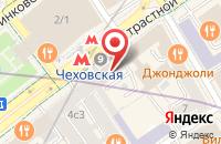 Схема проезда до компании Экспо-Репорт в Москве