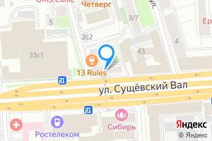 Снять двухкомнатную квартиру в Москве м. Марьина Роща, улица Сущёвский Вал, 41