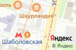Схема проезда до компании Очкарик в Москве