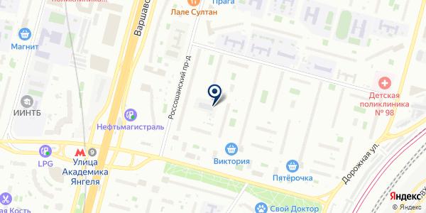 Комфорт Deco на карте Москве