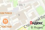 Схема проезда до компании Молодежная хоккейная лига в Москве