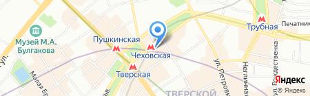 Исократ на карте Москвы