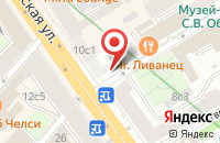 Схема проезда до компании Метконтракт в Москве