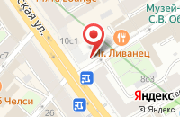 Схема проезда до компании Аи-Медиа в Москве