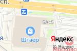 Схема проезда до компании Белорусские кухни в Москве
