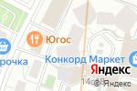Схема проезда до компании Tesclub в Москве