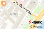 Схема проезда до компании D`VERZ ROYAL DESIGN в Москве