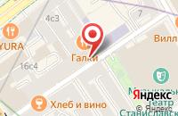 Схема проезда до компании Медиарама 98 в Москве