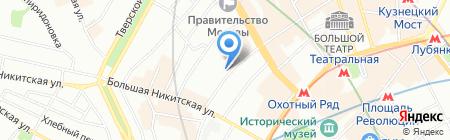 Агава Тревел на карте Москвы