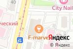 Схема проезда до компании 1001sharik.ru в Москве