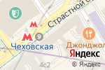 Схема проезда до компании Foxy Hookah в Москве