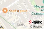 Схема проезда до компании Видеоэкология в Москве