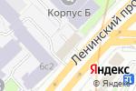 Схема проезда до компании Юридический центр на Ленинском в Москве