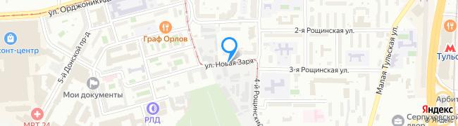 улица Новая Заря