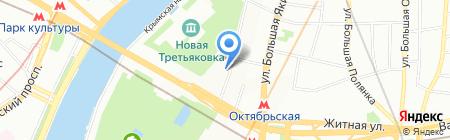 Вестник РАН на карте Москвы
