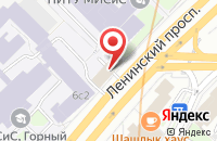 Схема проезда до компании Регион в Москве