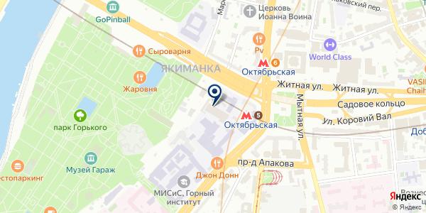 Нестор на карте Москве
