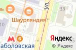 Схема проезда до компании Кулинариум в Москве