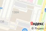 Схема проезда до компании 1001 Страховка в Москве