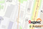 Схема проезда до компании Central coffee в Москве