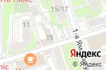 Схема проезда до компании Управа района Марьина Роща в Москве