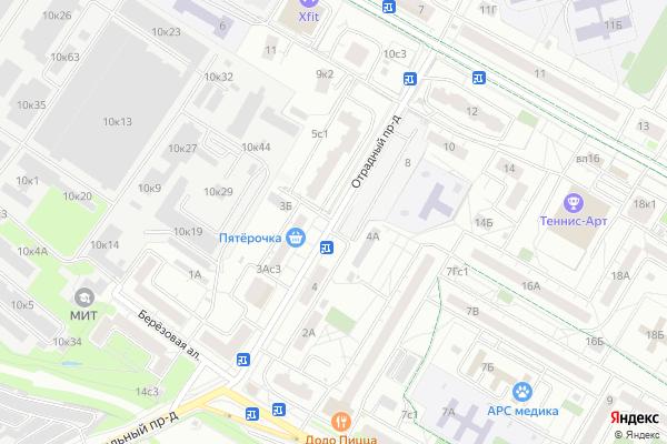 Ремонт телевизоров Отрадный проезд на яндекс карте